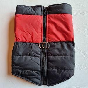 NWOT Pet Dog Coat Jacket Red Size XL